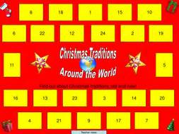 Christmas Traditions Around The World By Ngflcymru  Teaching Resources Tes