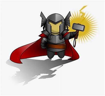 Thor Clipart Hammer Clipartkey