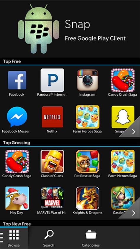 snap download apps from play directly to your blackberry 10 2 1 blackberry at