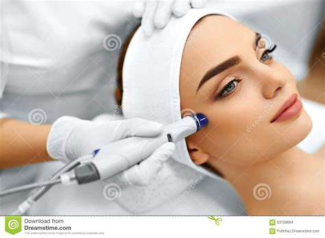 video treatment skin care hydro microdermabrasion peeling treatment stock photo image of hydro