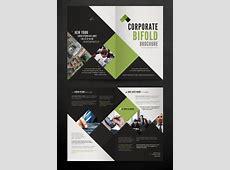 Corporate Bi Fold Brochure Template PrintRIVER©