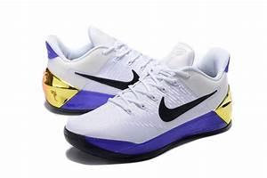 2017 Nike Kobe 12 AD White Purple Shoes [NK022] - $76.00 ...