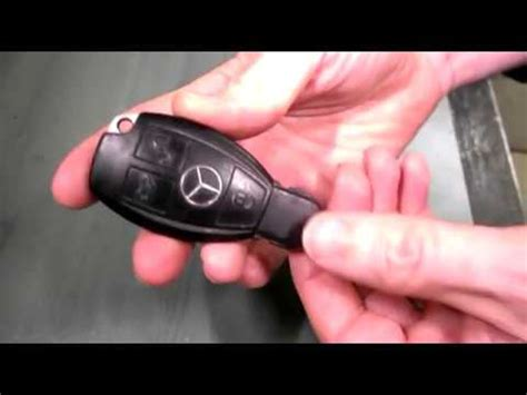 Like any battery, these batteries sometimes die and need to be replaced. Mercedes key battery change | Doovi