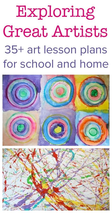 exploring great artists complete lesson plans 379   973883aaa07453b38d1e9050dab1eb2e