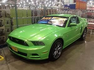Lime Green Mustang | Green mustang, Cars trucks, Lime green