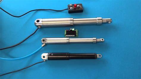 Electric Piston Motor by Linear Electric Actuator Doovi