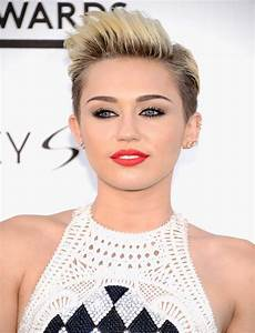 Miley Cyrus Short Hairstyles 2015