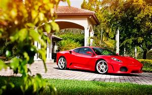 Beautiful Red Ferrari F430 Wallpaper 44240 1920x1200px