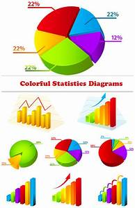 Quality Graphic Resources  Colorful Statistics Diagrams