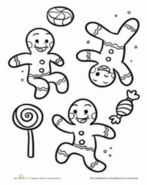 gingerbread man coloring page gingerbread pinterest
