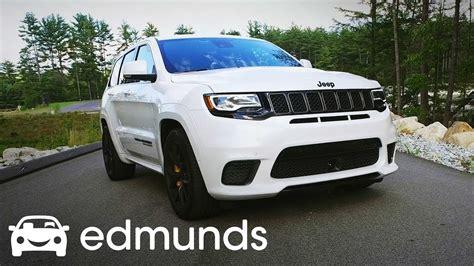 trackhawk jeep white 2018 jeep grand cherokee trackhawk review test drive