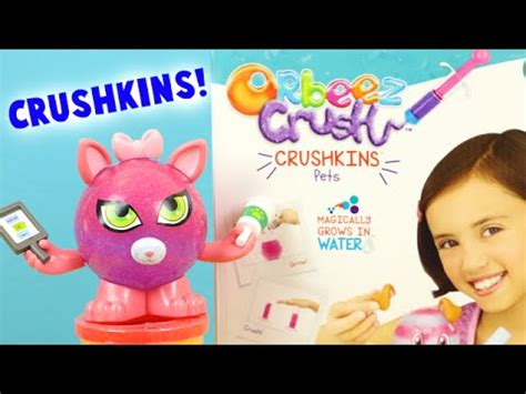 Orbeez Crush Crushkins Pets Doggy And Kitty Toy Review