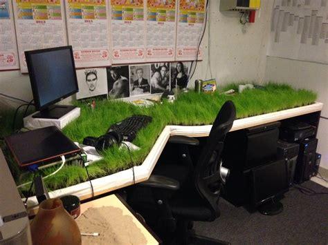 desk games to play at work grass desk prank imaginationarium of play pinterest