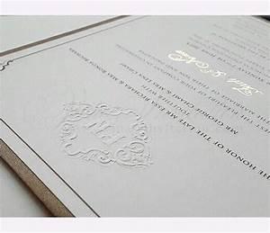 vinas invitation single hardcover hardcover invitation With foil wedding invitations sydney