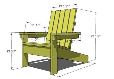 fe guide building adirondack chair plans  composite