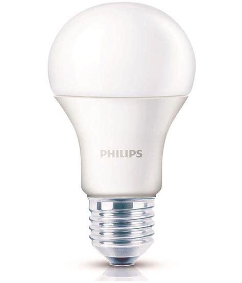 philips 9w single led bulbs cool day light buy philips