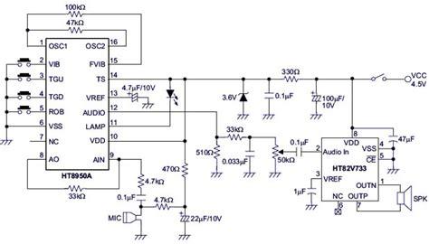Sound Shifter Circuit Electronic Circuits Diagrams