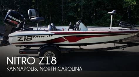 Nitro Boats For Sale In Nc by Sold Nitro Z18 Boat In Kannapolis Nc 114239