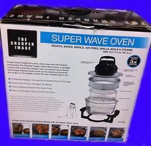 New Sharper Image Super Wave Oven Infrared  U0026 Convection