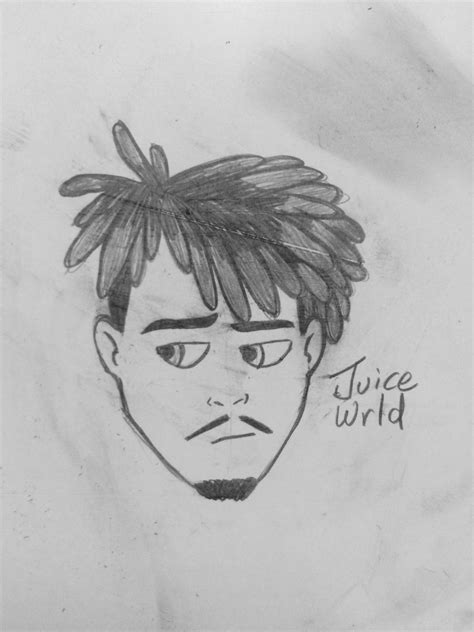 Black mirror jack black black clover heart sofia black delia. Black And White Juice Wrld Drawing Easy : Made This In ...