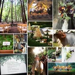 whispered whimsy vintage enchanted wedding inspiration - Enchanted Forest Wedding