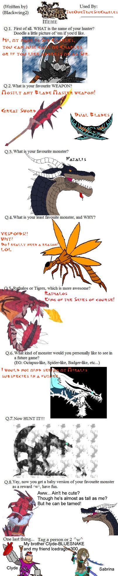 Monster Hunter Memes - motives demotives posters and memes on wearemonsterhunter deviantart