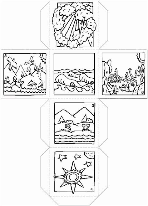 Kleurplaat Scheppingsdagen by Afbeelding Christelijke Spelletjes Afbeeldingen Bij