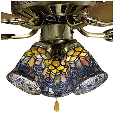 4 inch ceiling fan light covers compare price stained glass ceiling fan on