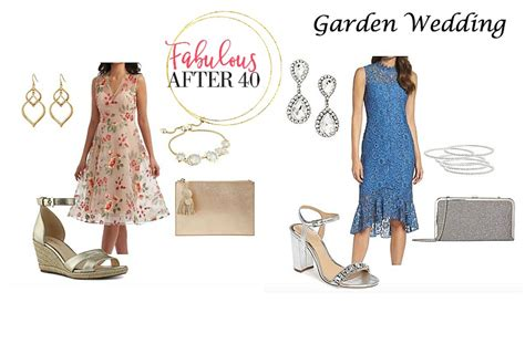 gorgeous ideas for what to wear to a garden wedding