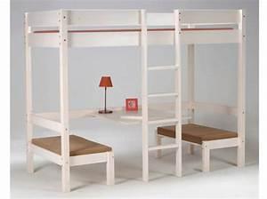 Hauteur Bureau Adulte : lit mezzanine adulte voici mon avis ~ Melissatoandfro.com Idées de Décoration