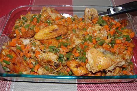 recette de cuisine africaine poulet dg directeur général par toimoietcuisine