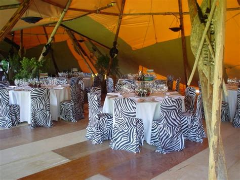 africa treetops themed party