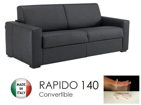 canapé convertible sans enlever les coussins canape convertible rapido 140cm dreamer cuir eco gris