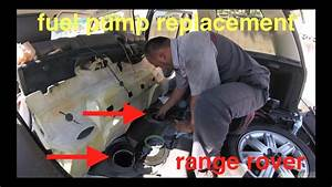 No Start  Cranks Over And Over  Fuel Pump Replacement  Range Rover  U221a Fix It Angel
