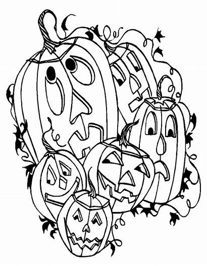Halloween Fun Stuff Decorations Coloring Pages Cut