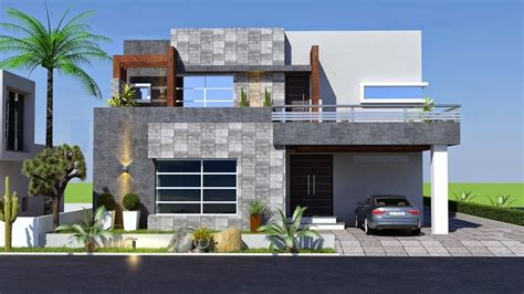Cute Small Modern House 800 Sft for 8 Lakh Elevation