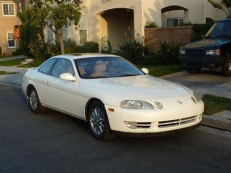 amazing lexus sc400 purchase used white 1993 lexus sc300 in pensacola florida