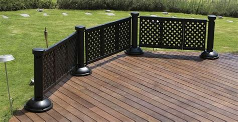 portable patio fence with gardening