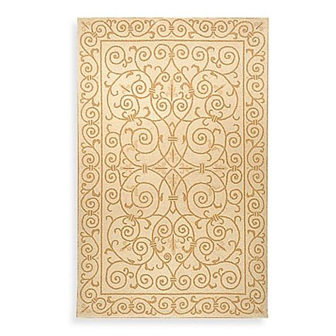 Safavieh Chelsea Ivory and Gold Wool Accent Rugs Bed Bath & Beyond