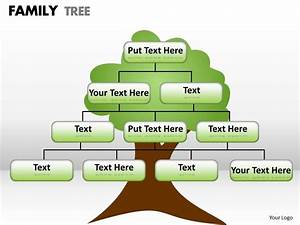 16411020 Style Hierarchy Tree 1 Piece Powerpoint