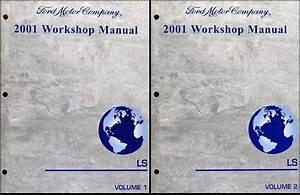 2001 Lincoln Ls Repair Shop Manual 2 Volume Set Original