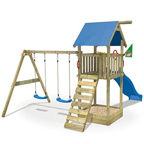 kinderhaus mit rutsche kinderhaus garten wickey mit rutsche doppelschaukel