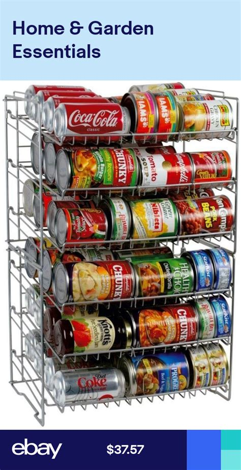 cabinet pantry   rack organizer storage steel wire frame kitchen  cans drying rack