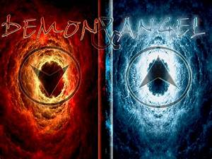 Angels Vs Demon... Angel And Evil Quotes