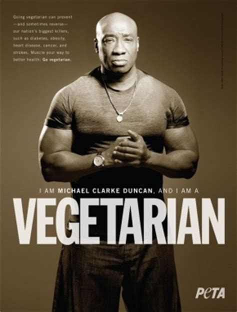 michael clarke duncan goes the mile for animals