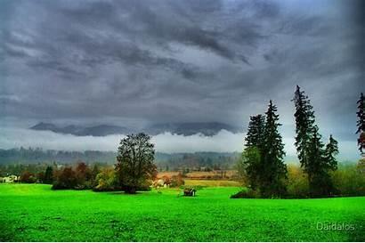 Rainy Landscape Redbubble Daidalos