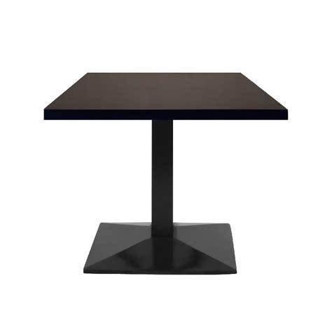 chaise metteur en table restaurant 110x60 cm plateau bois et pied métal noir petit prix