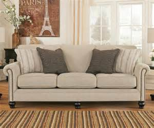 milari linen pull out queen sofa sleeper by ashley
