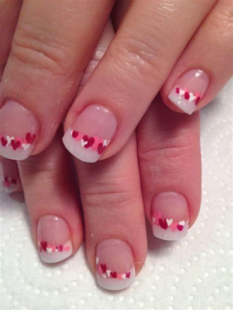 valentine day  romantic nail art designs