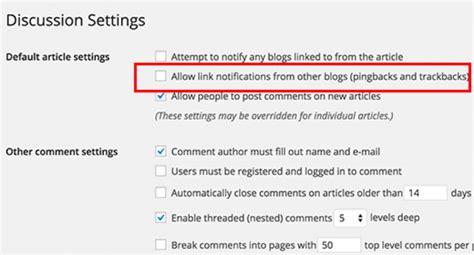 Wordpress Trackback Spam Tegenhouden